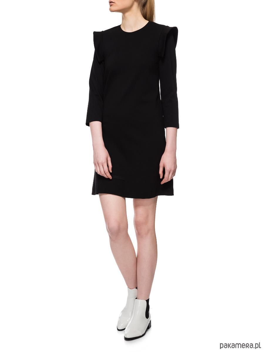 Sukienka czarna YY200078_RAL9005