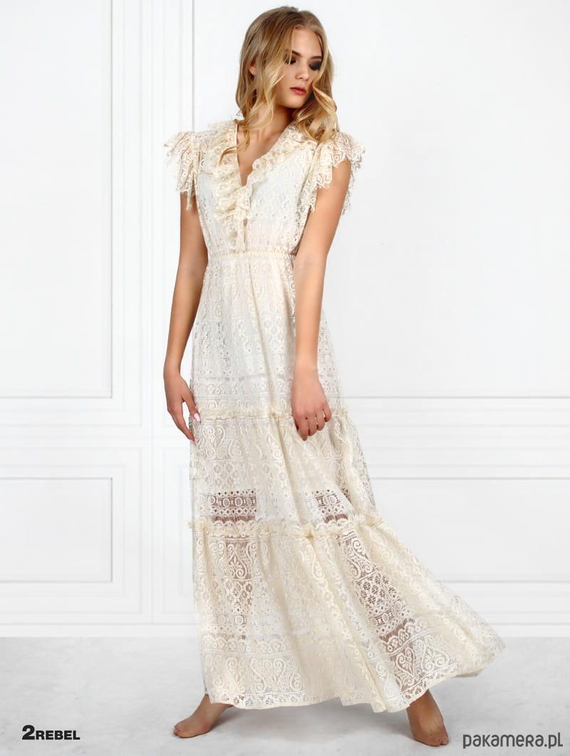 91cfbf984f Sukienka koronkowa 2Rebel Grace - sukienki - maxi - Pakamera.pl