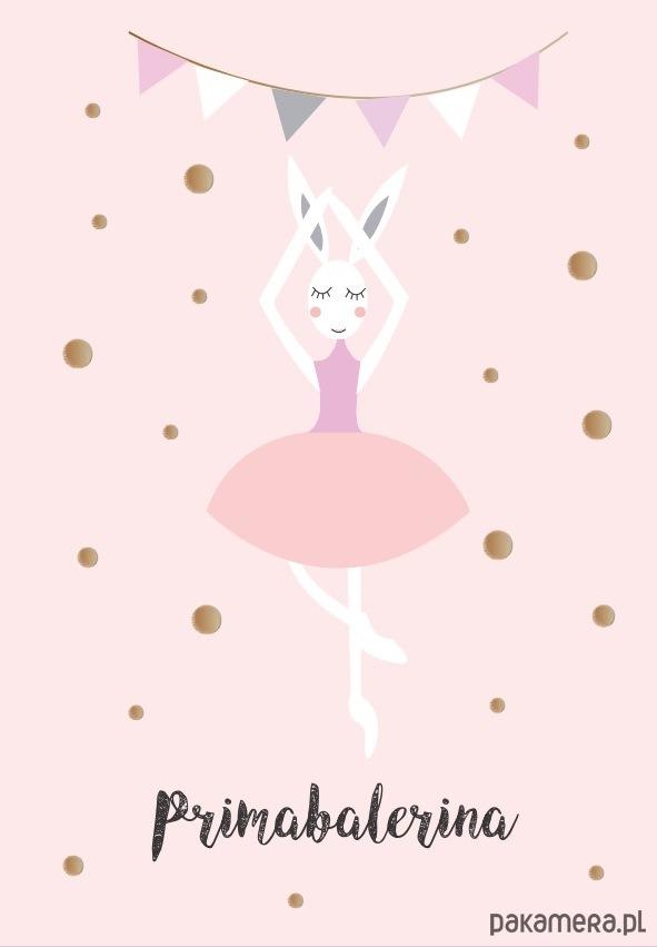 Plakat Baletnica A3 Pakamerapl