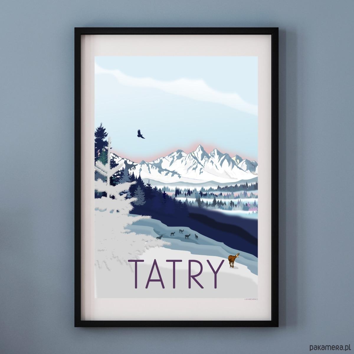 Plakat Tatry Pakamerapl