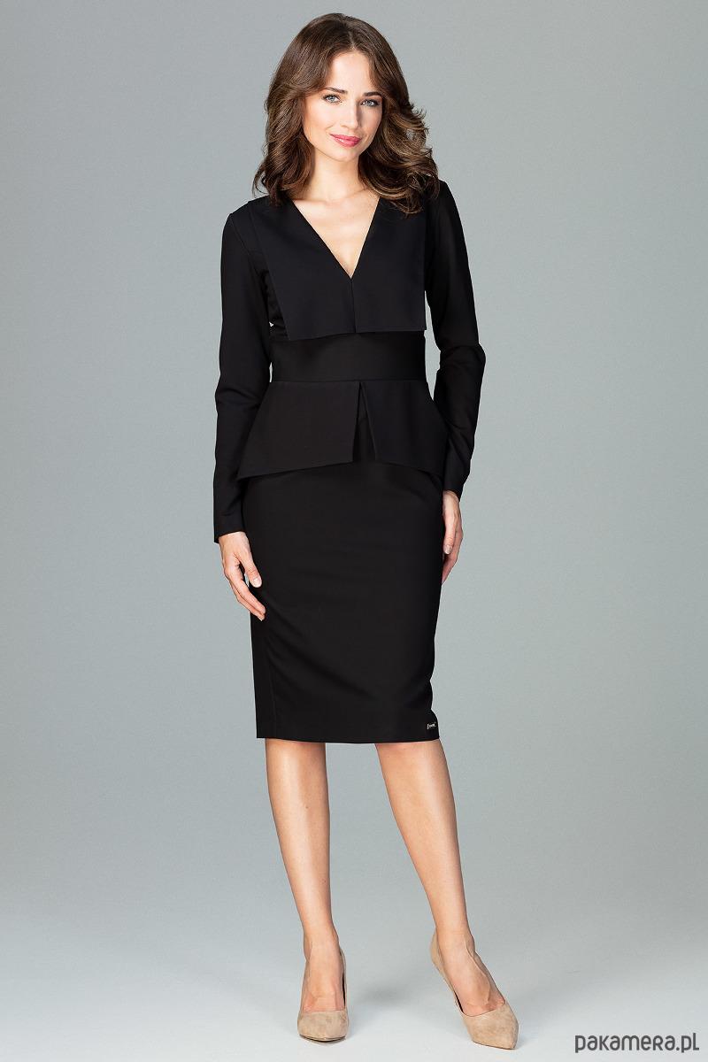 Sukienka K491 Czarny