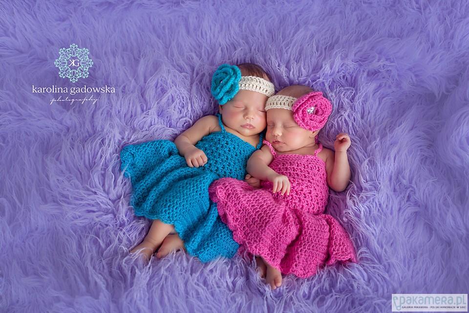 6f833b5a5c Komplet szydełkowy - Sukienka + opaska - dziewczynka - sukienki -  Pakamera.pl