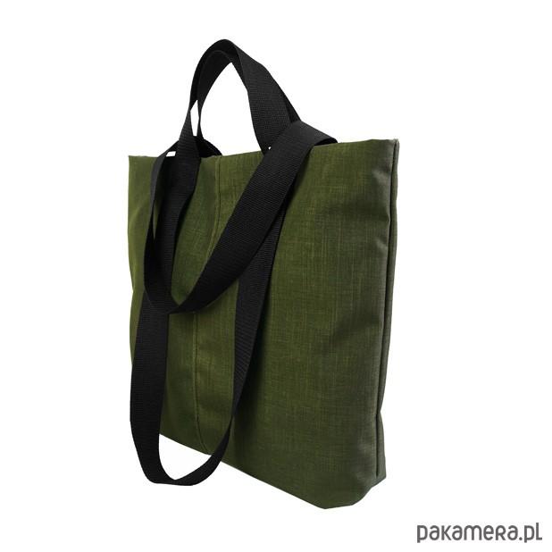 1414a8c352862 SHOPPER BAG 02 torba na ramię czarny zamek - torebki różne - damskie ...