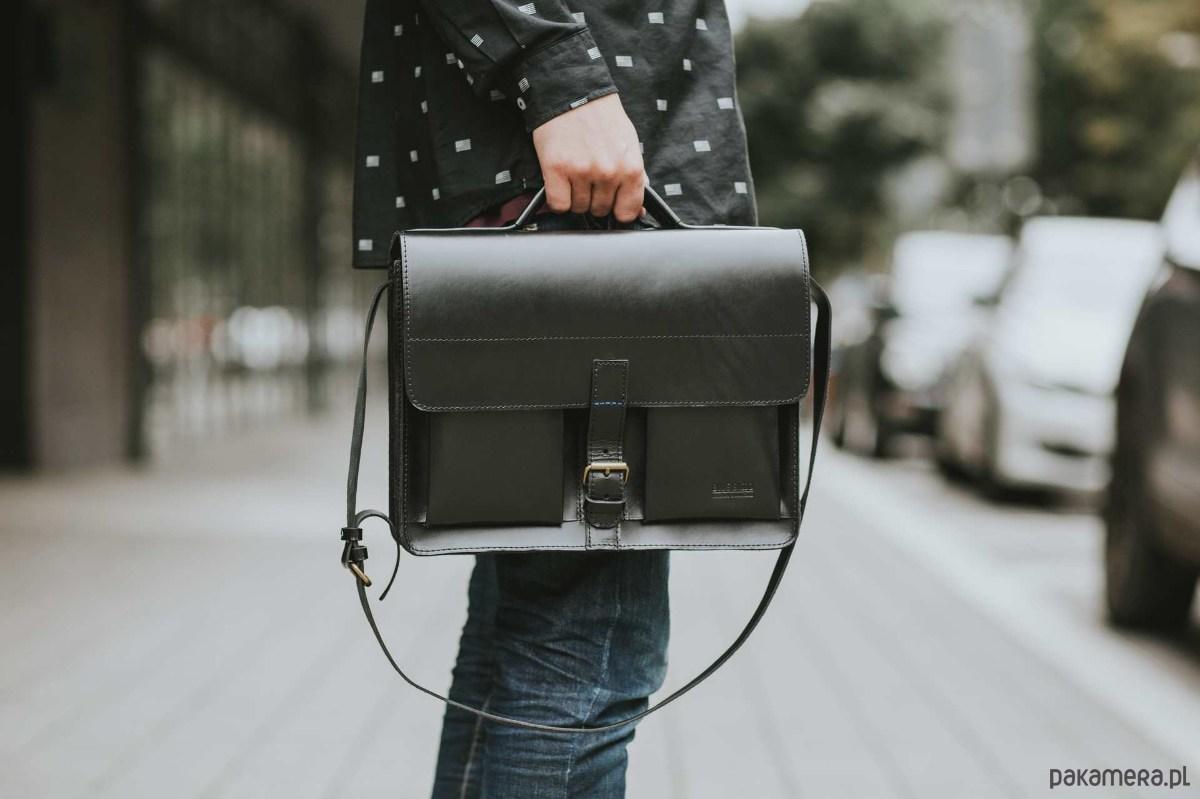 c32620ffdd6cd7 Torebki - torby na ramię - damskie-Aktówka listonoszka skórzana torebka A4  ...