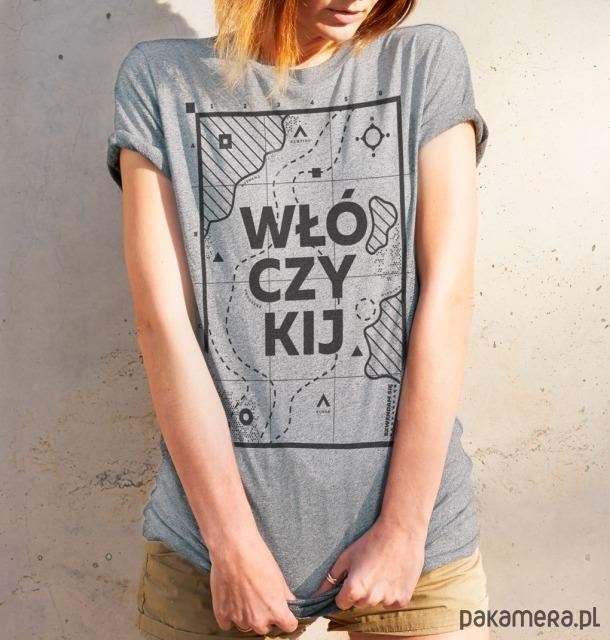 Koszulka damska Szwendam się - WŁÓCZYKIJ