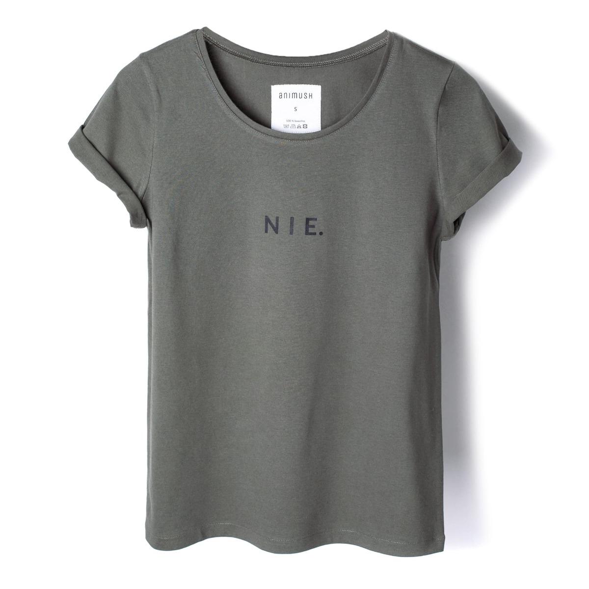T-shirt khaki NIE.