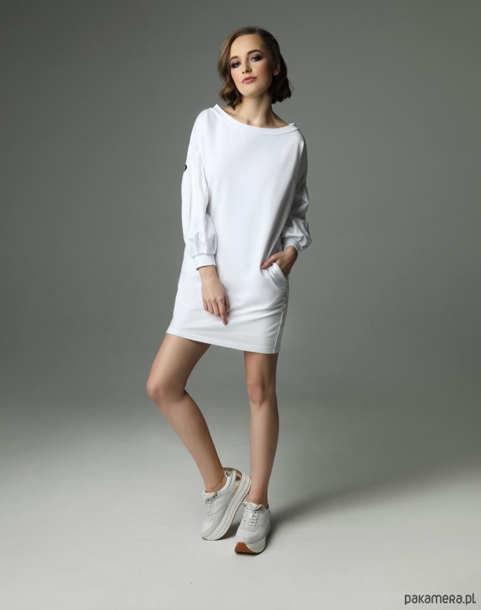 Sukienka Loose Louise - biała