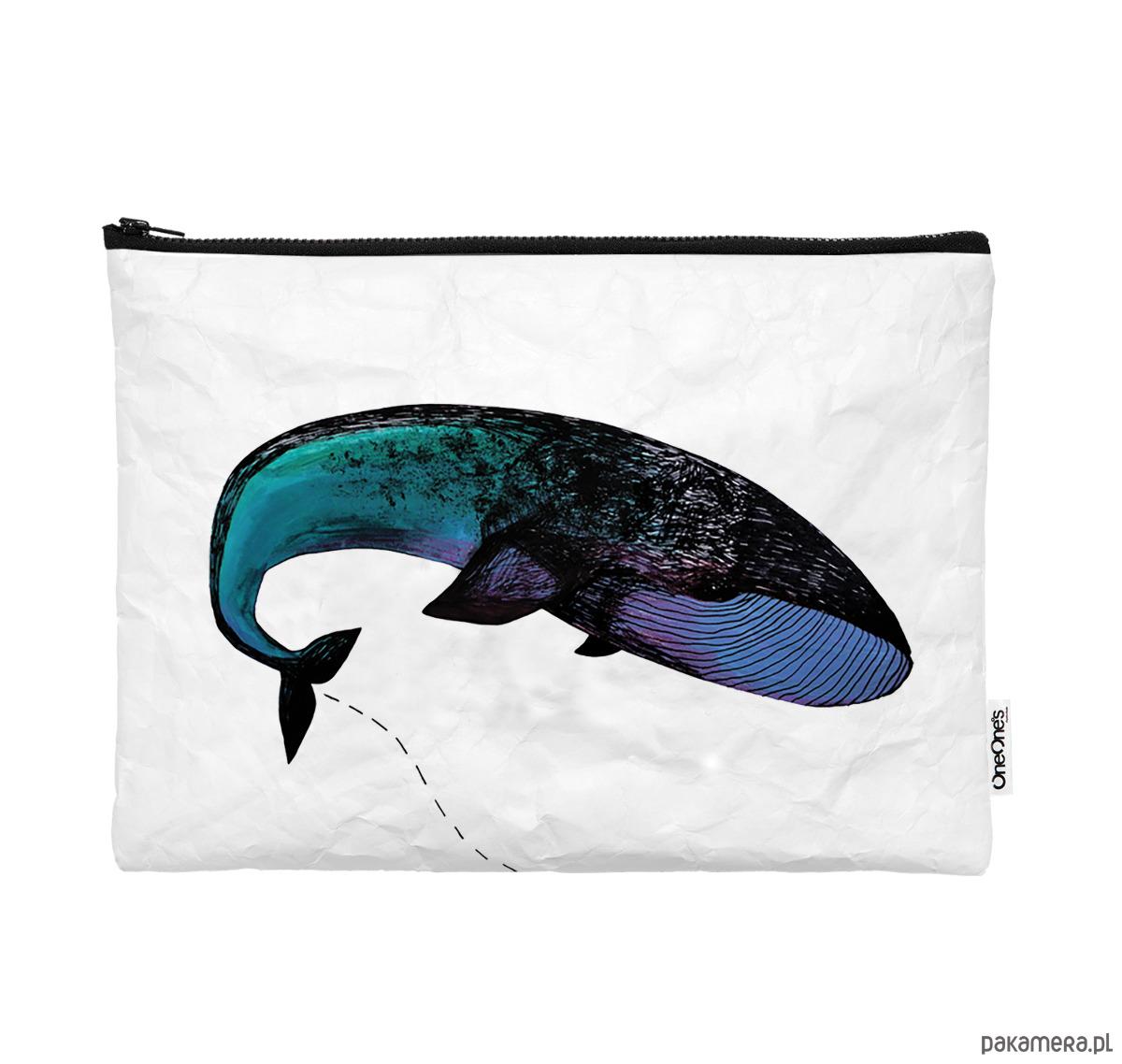 Obraz przedstawiający Pokrowiec z wielorybem na laptop z Tyveku®