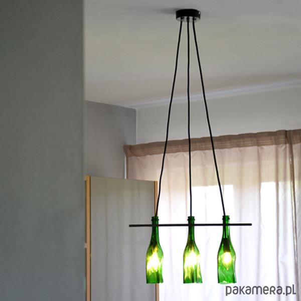 LAMPA Z BUTELEK X3