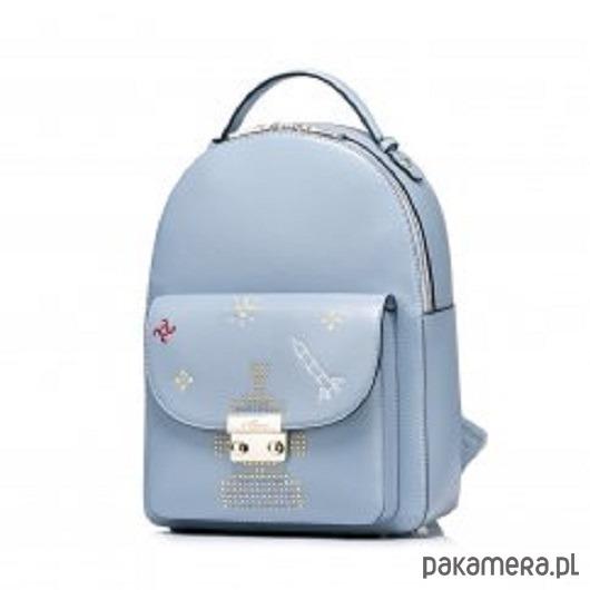 4bee1f81de42b Dziewczęcy plecak z motywem kosmosu Niebieski - plecaki - Pakamera.pl