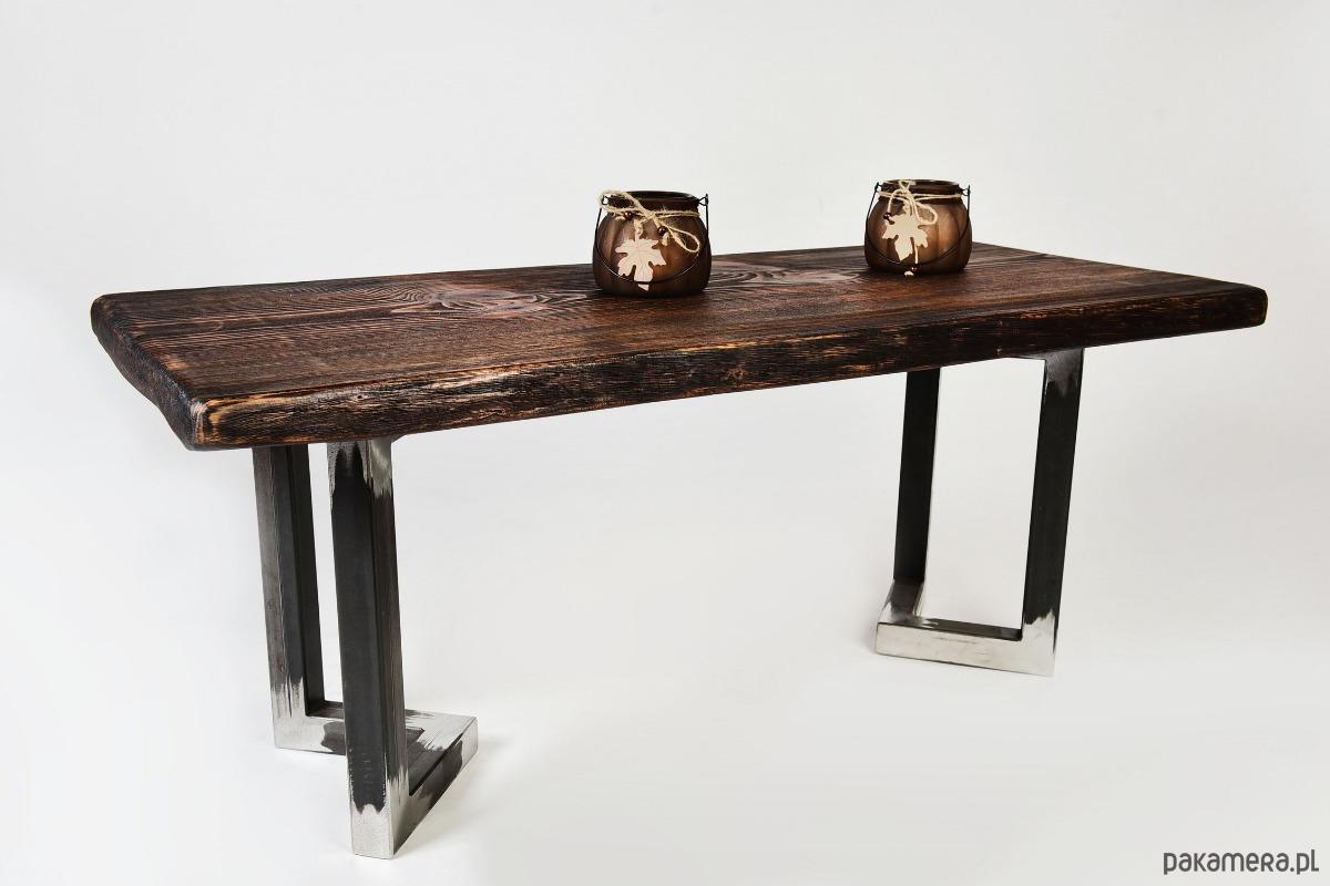 Stolik Kawowy Bahari Efekt Starego Drewna Unikat Pakamerapl