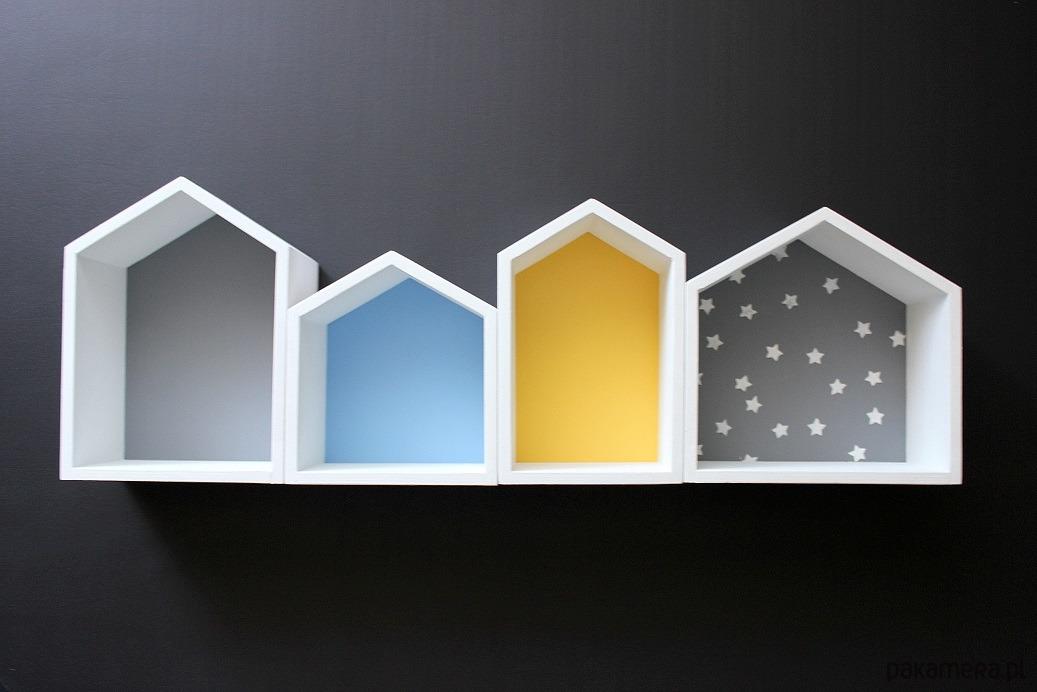 Półka Domek Komplet Pakamerapl