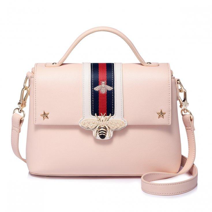 5b1f5680a472e Oryginalny kuferek różowy - torby na ramię - damskie - Pakamera.pl