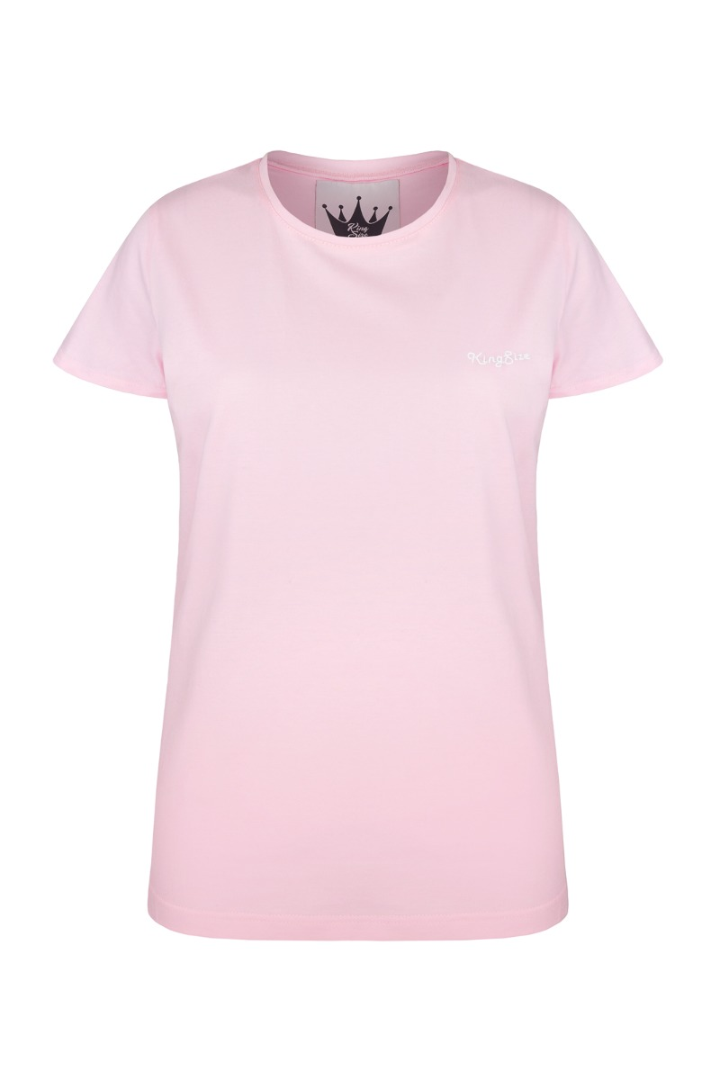 t-shirt KingSize pink