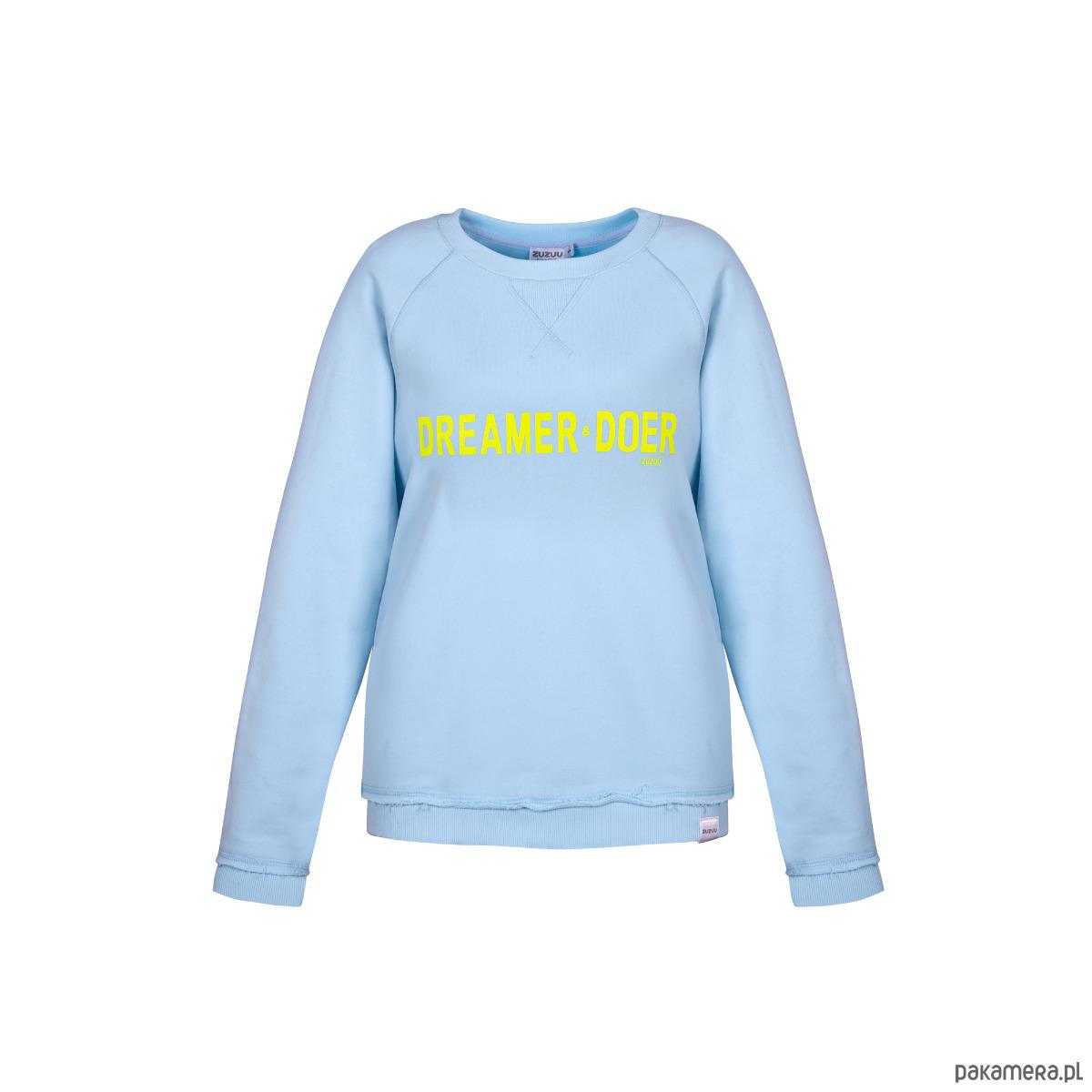 Bluza damska baby blue