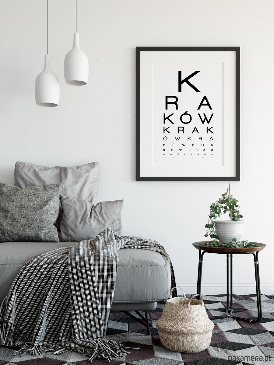 Plakat Kraków 50x70cm Pakamerapl
