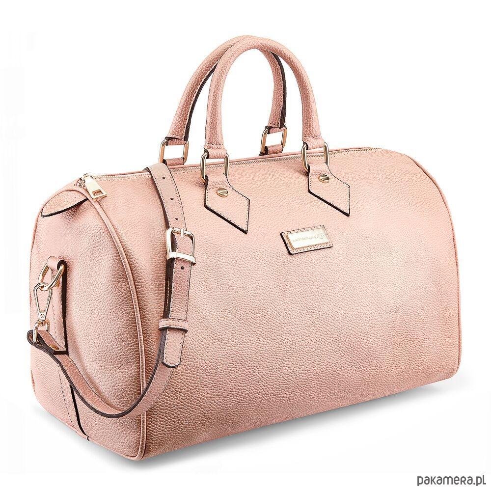 ee44ea56ff4ce Torba PS TRAVEL Medium Powder Pink - nerki - damskie - Pakamera.pl