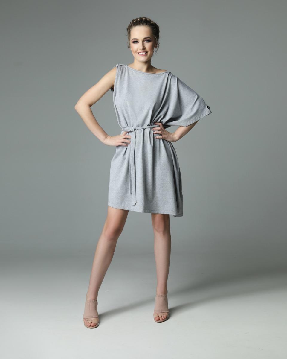 Sukienka Dirty Valerie - szara