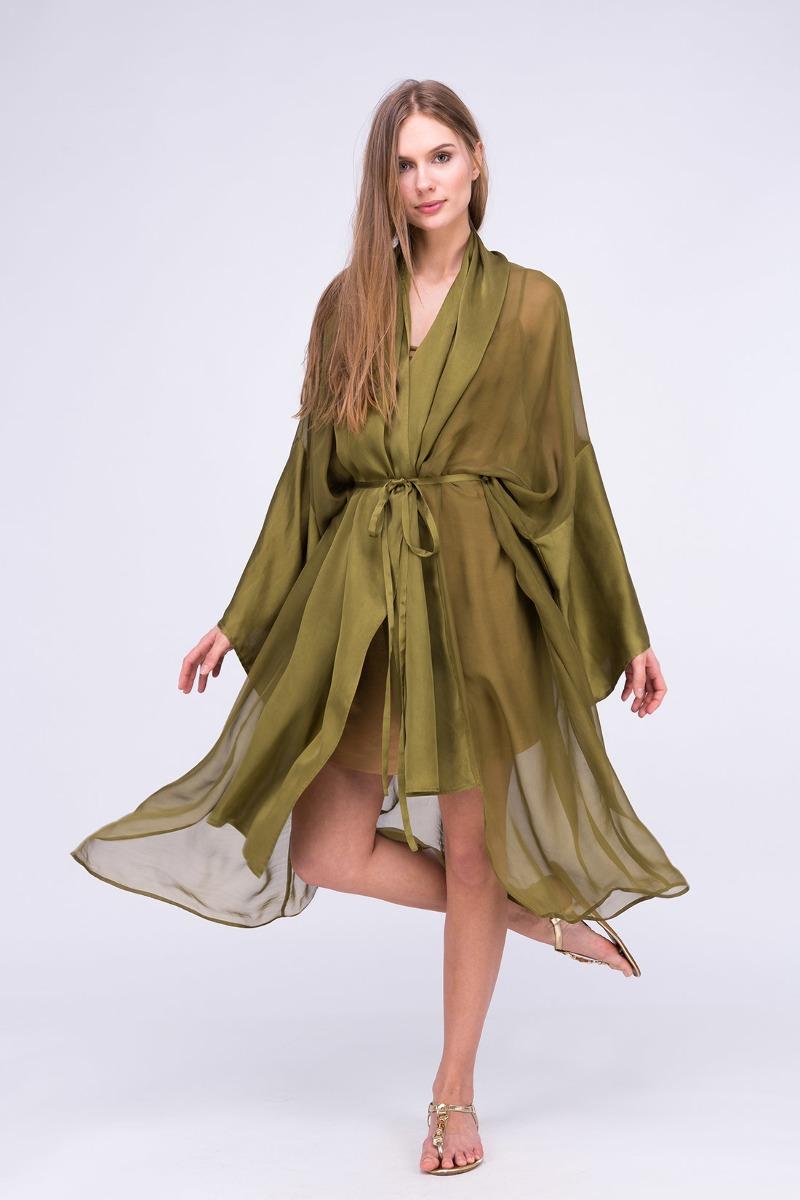 Sukienka-kimono WEZEN Khaki
