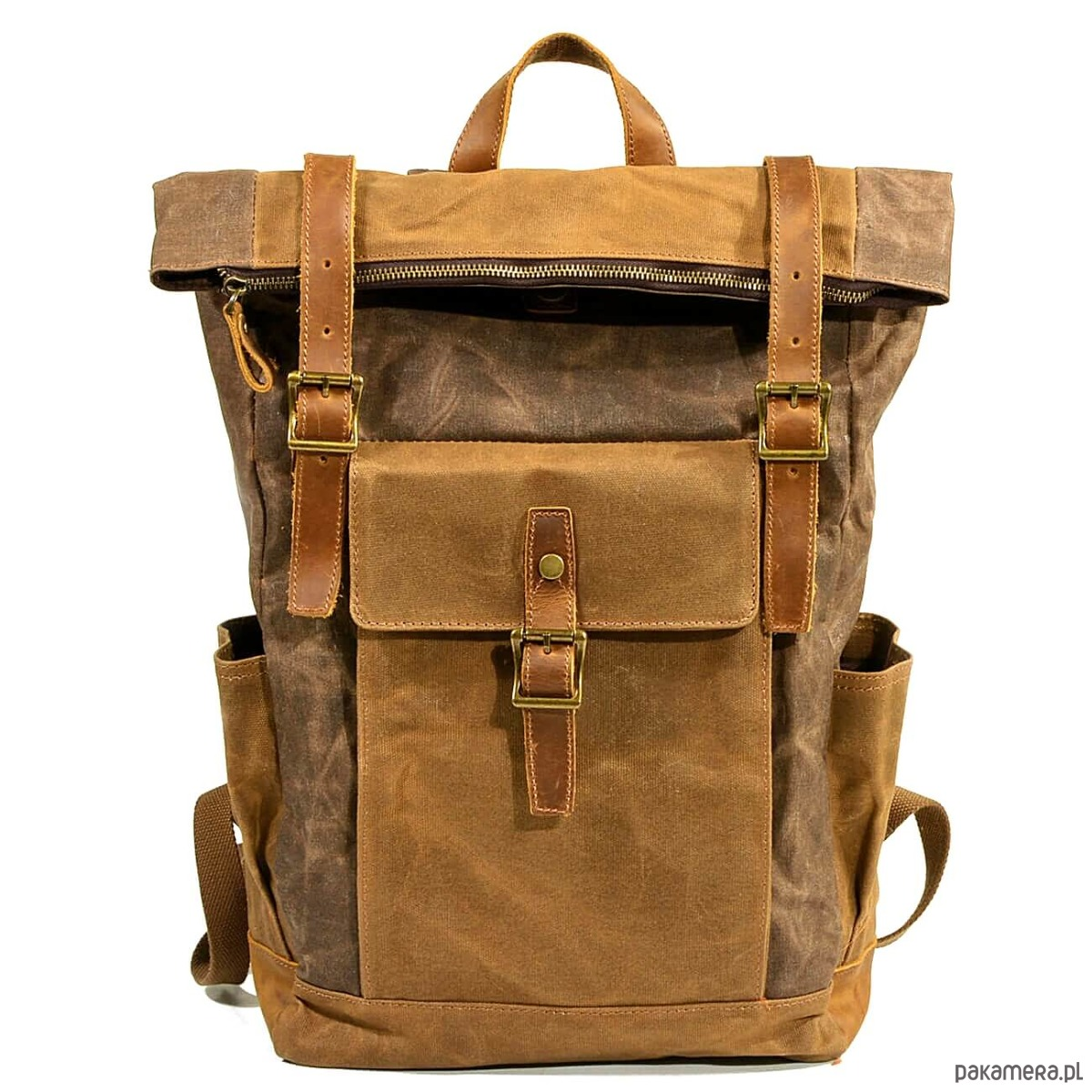 6971ee43227e7 P8 WAX STANFORD UNISEX™ plecak płótno wosk. - plecaki - Pakamera.pl