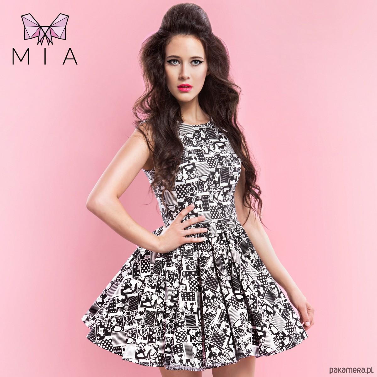 34ea93c956 Sukienka Alicja w krainie czarów by MIA - sukienki - mini - Pakamera.pl