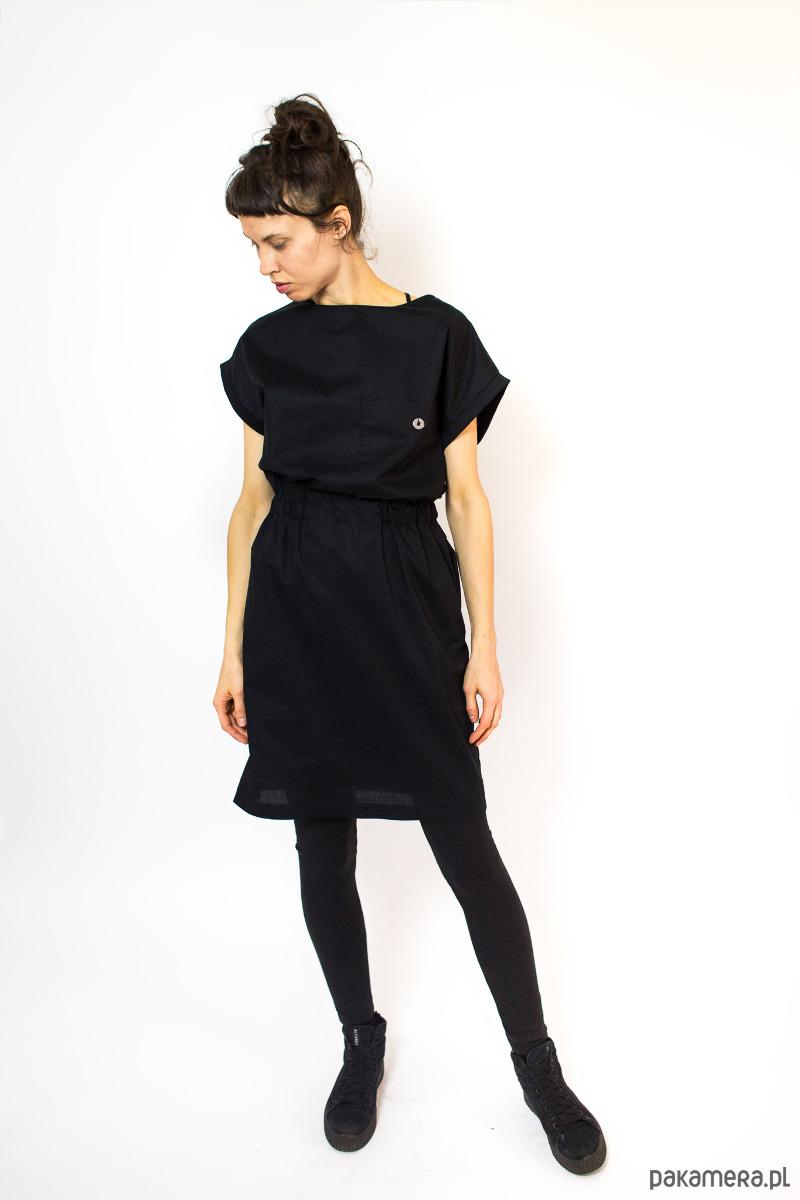 Sukienka NAYT czarna S/M
