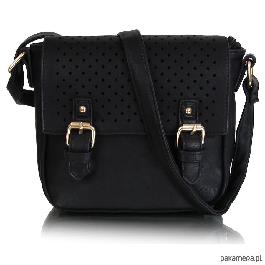 45ad5cee896cd Torebka NAOMI listonoszka czarny - torby na ramię - damskie ...