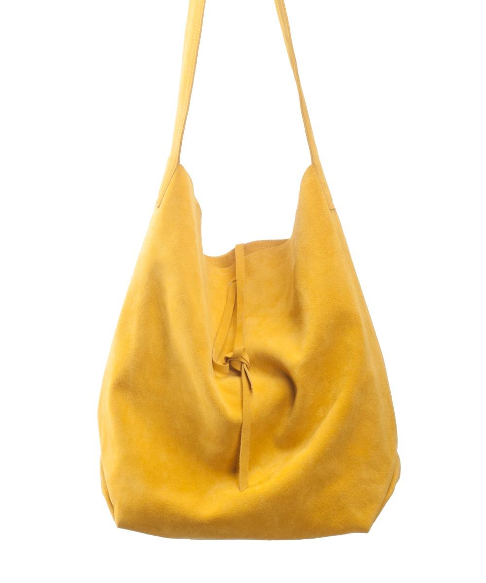 2e2f4eaaa9aae Torba shopper żółta - torby na ramię - damskie - Pakamera.pl