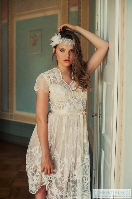 Suknia ślubna Retro Koronkowa ślub Suknie Pakamerapl