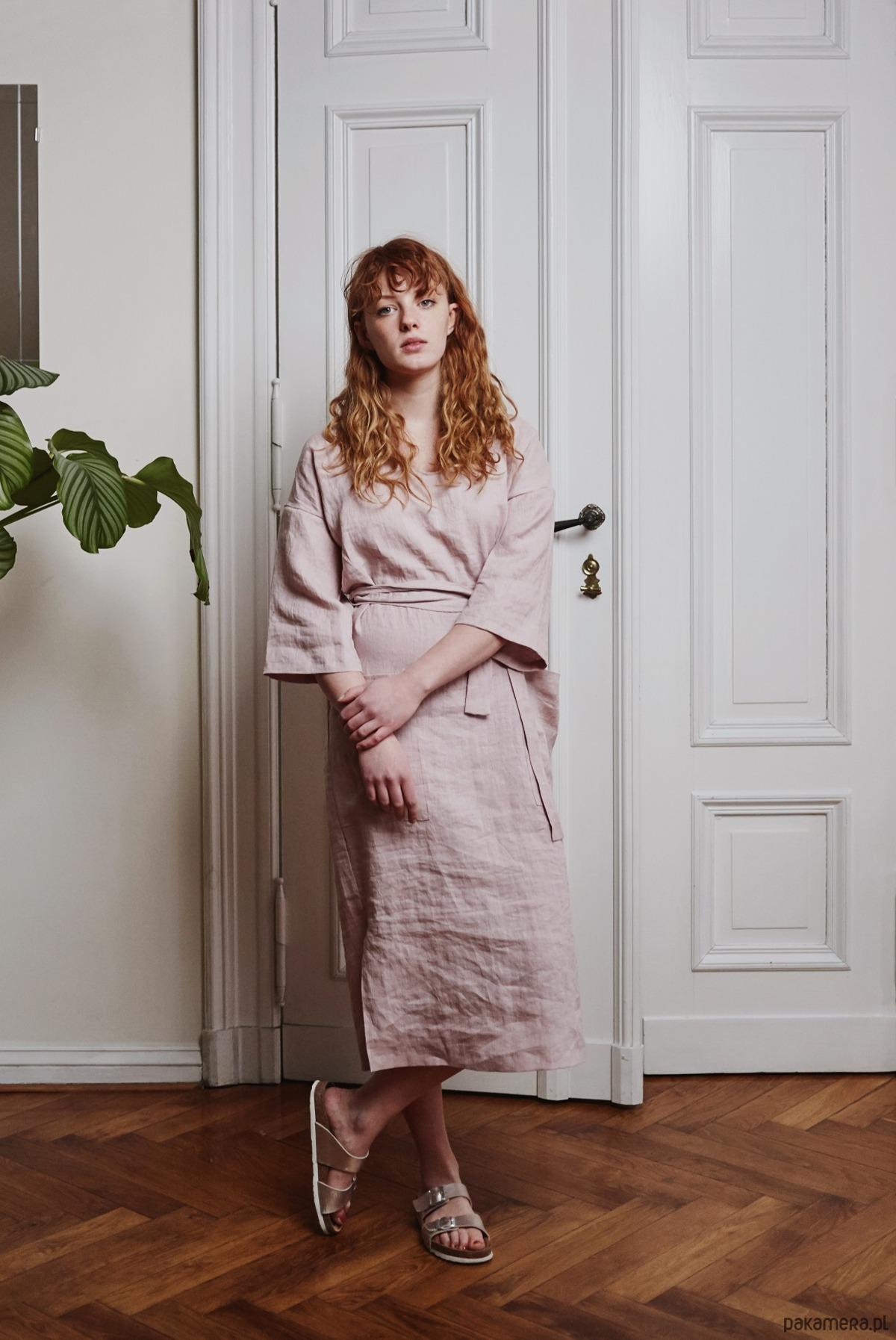 Sukienka Yoko różowa