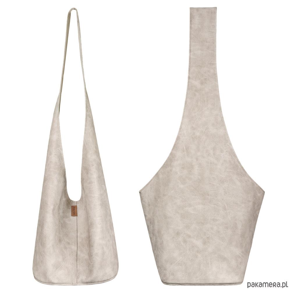4bfac36911071 Long Boogi Bag beżowa lekko przecierana - torby XXL - damskie ...