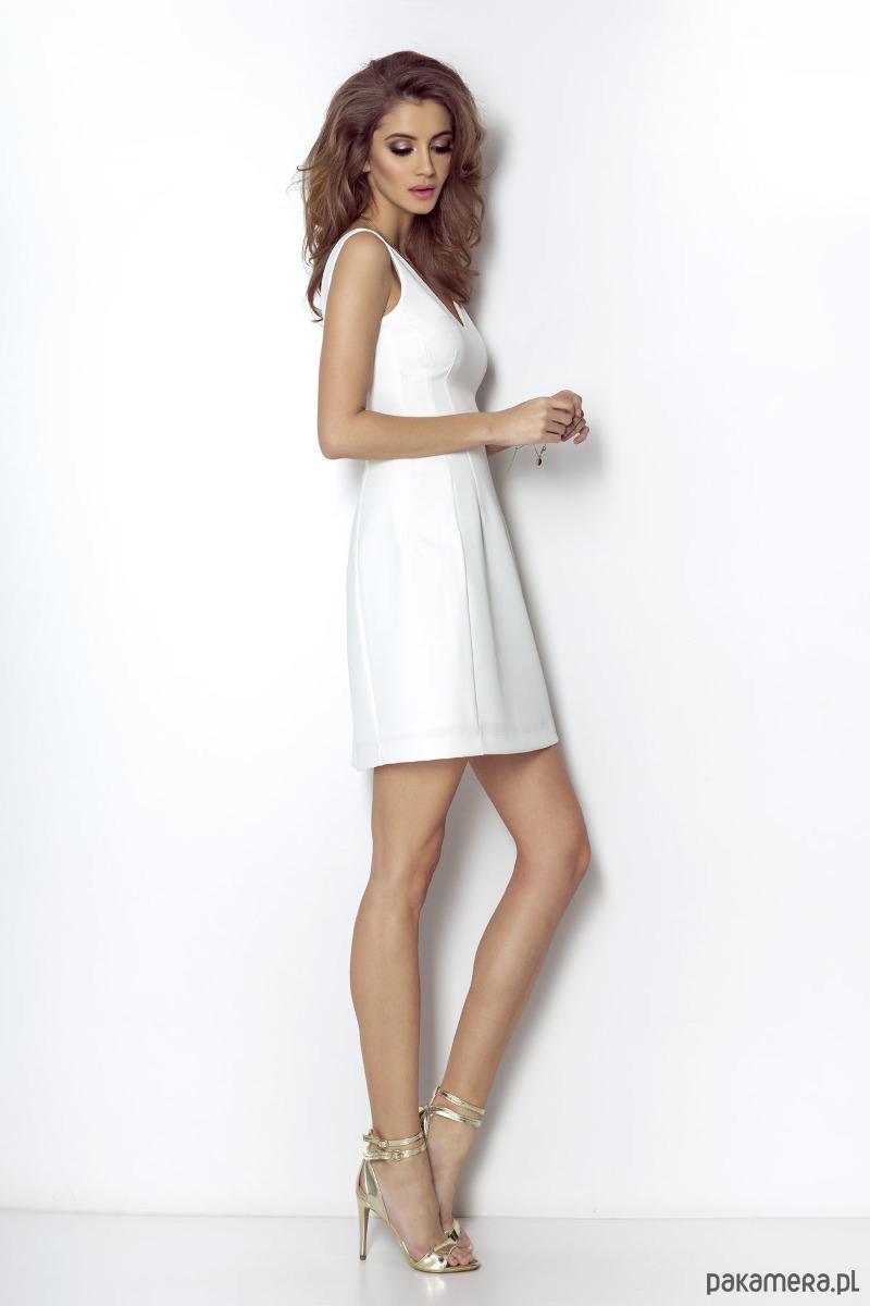 Sukienka April-śmietankowy