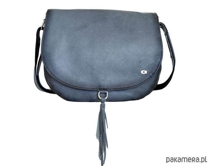 11978417f82c0 Torebka na ramię BRAVE 13 ciemnoszara - torby na ramię - damskie -  Pakamera.pl