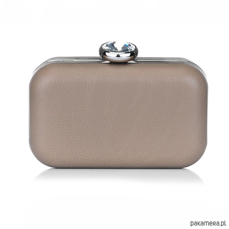 c07940740095f Kopertówka pudełko RIRI beżowy - kopertówki - Pakamera.pl