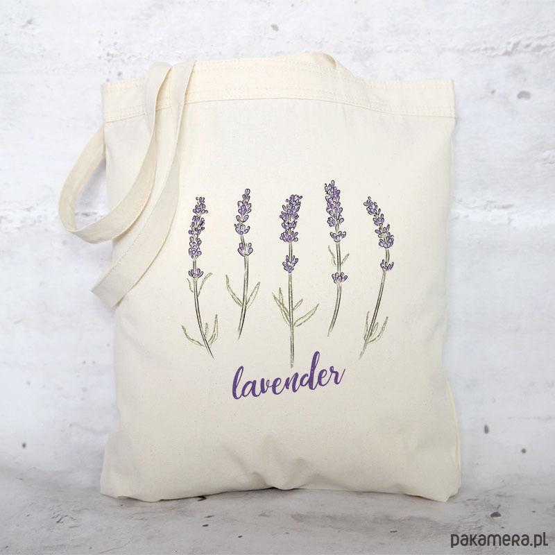 dd25c45839094 Eko torba na zakupy bawełniana LAWENDA - torby na zakupy - damskie -  Pakamera.pl