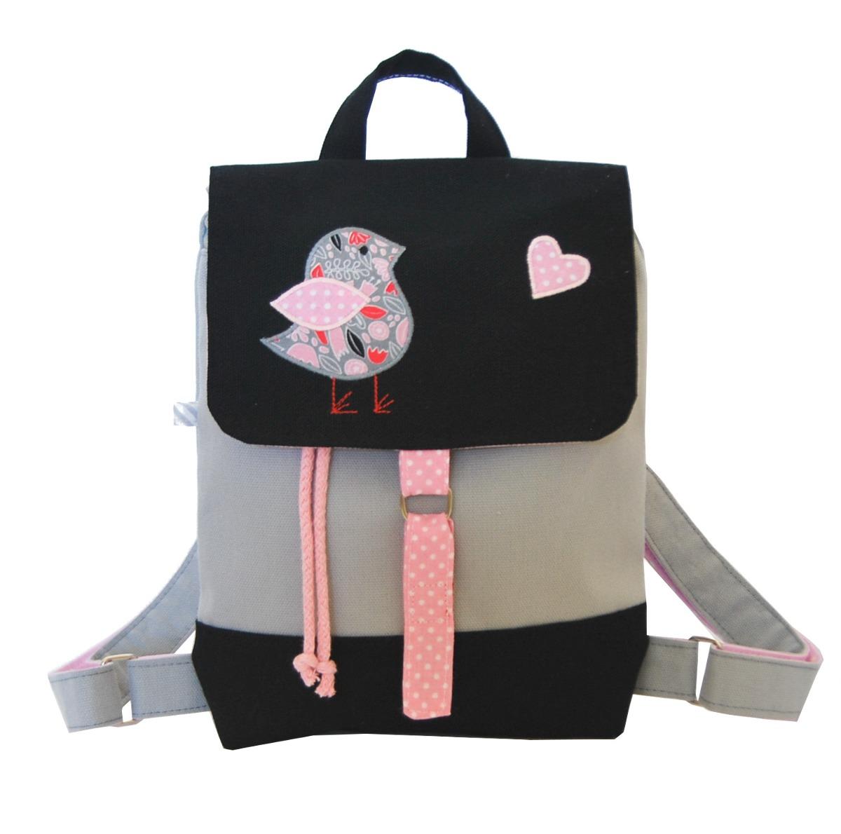 71f2a7fd75dcd Mały plecaczek z ptaszkiem - akcesoria - torebki