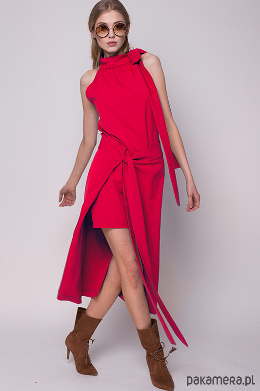Czerwona sukienka MARTI