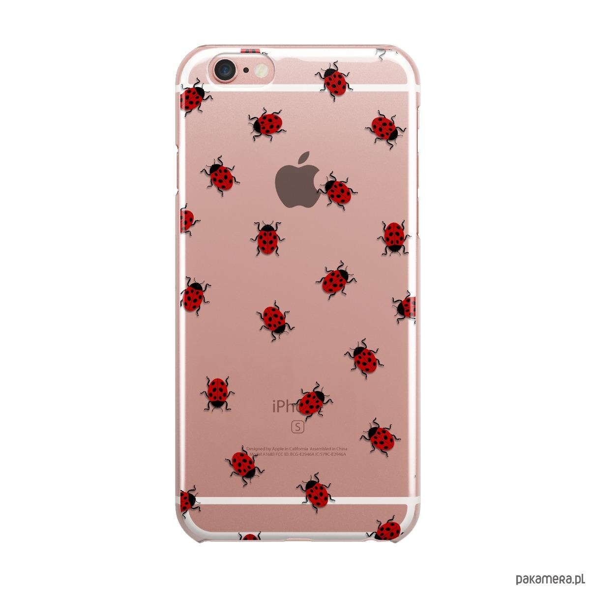 Biedronki Iphone Case Etui Silikonowe Obudowa Pakamerapl