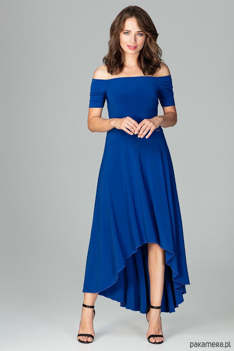 Sukienka K485 Szafir