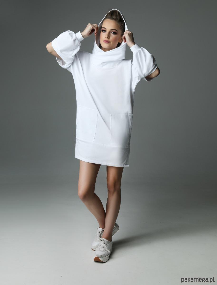 Sukienka Holey Freak - biała