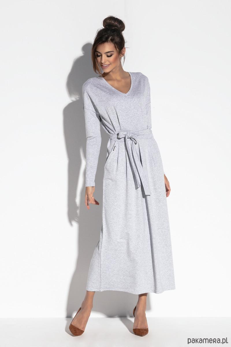 Maxi sukienka F573