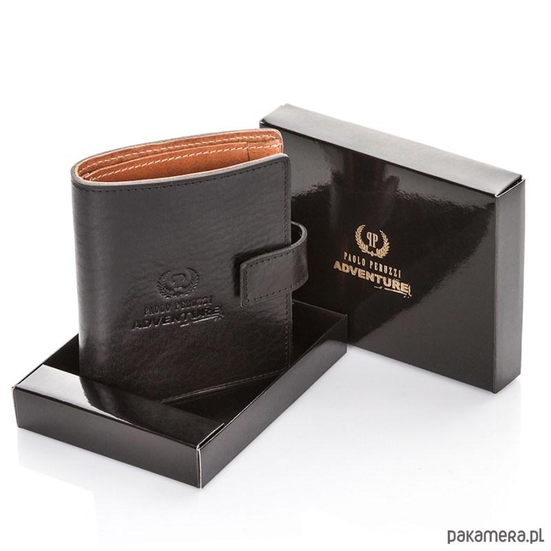 6003bbda61150 Dwukolorowy portfel męski Paolo Peruzzi 910 - akcesoria - portfele ...