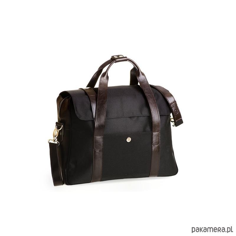 02f25bba1432d Czarna torba męska na ramię - akcesoria - torby i nerki - męskie ...