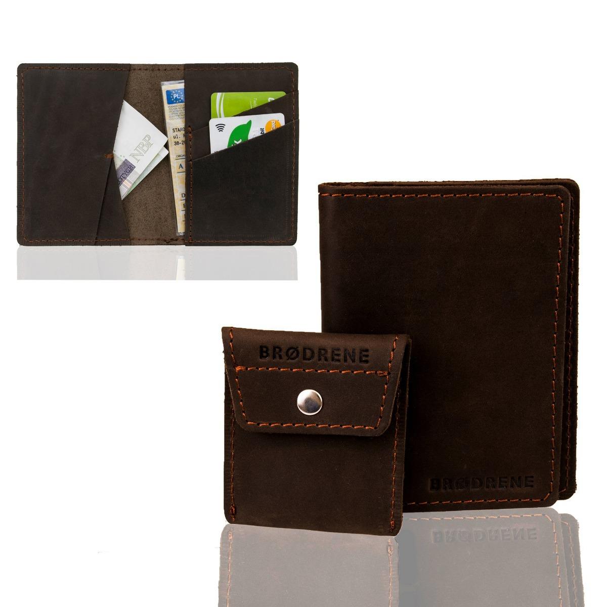 140d5352d9194 akcesoria - portfele-Komplet portfel i bilonówka brodrene sw07 slim