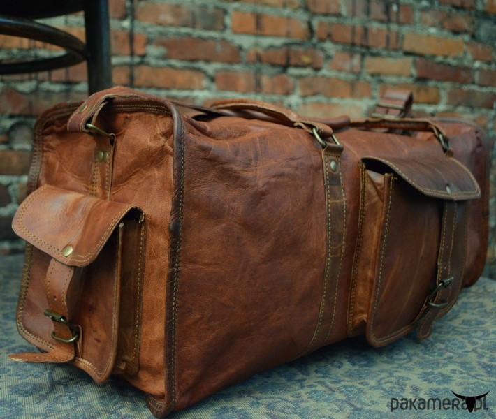 5b275659a5c5a Preferowane Skórzana torba podróżna ZADRA BAG - torby podróżne -  Pakamera.pl KG-75
