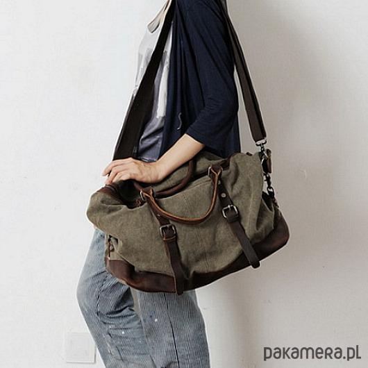 d0c31e920061b TD14 VAMP VINTAGE XL™ baw+skóra - torby na ramię - damskie - Pakamera.pl