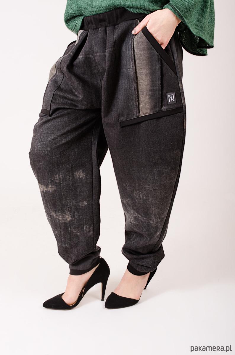 spodnie baggy z kieszonkami M/L