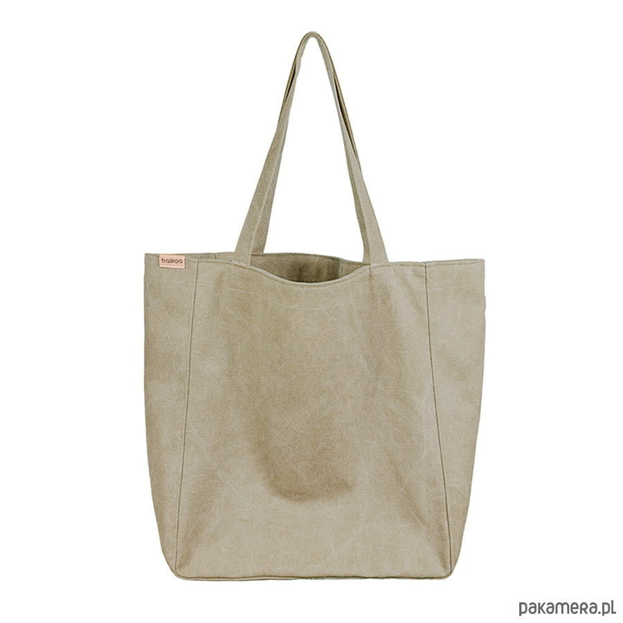 ef61de66539c3 torby na ramię - damskie-Lazy bag torba khaki   zieleń na zamek   vegan
