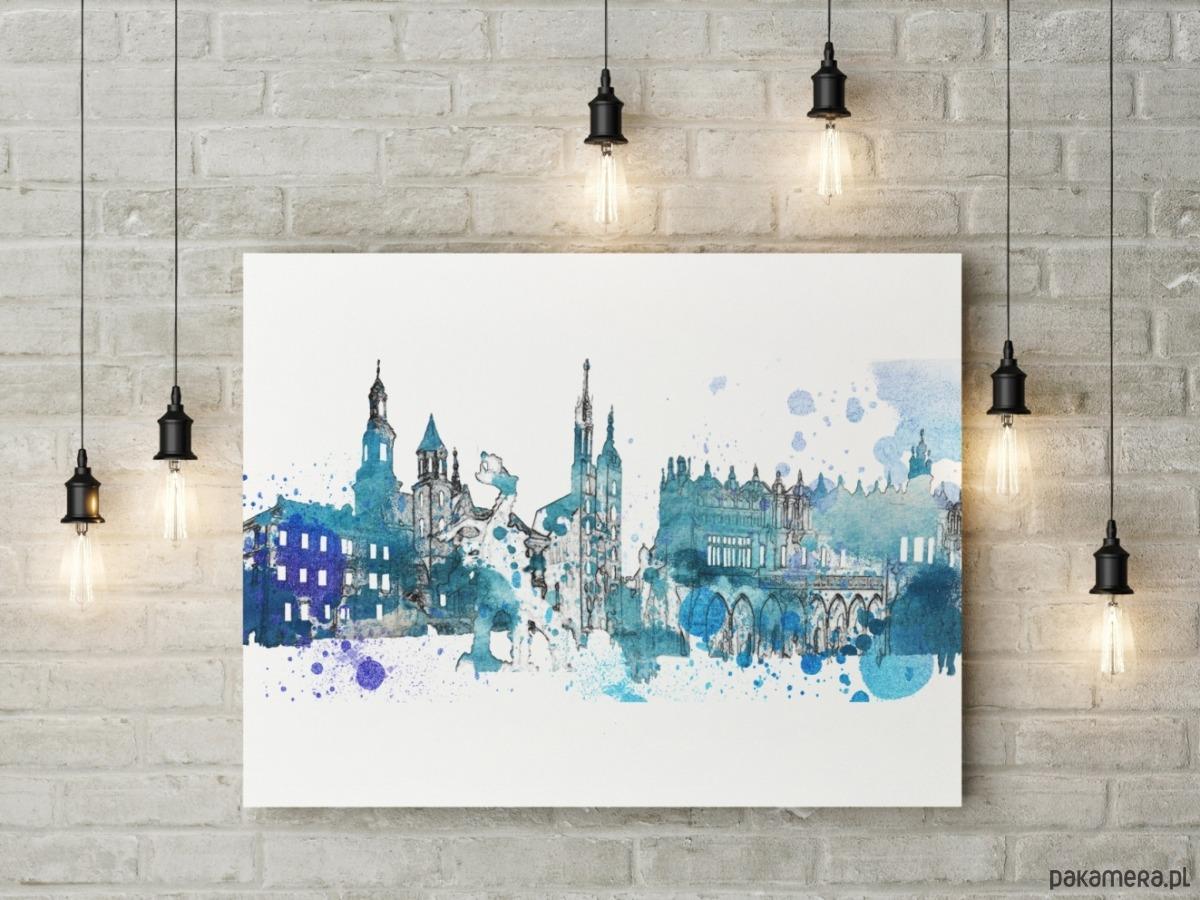 Plakat Kraków Pakamerapl