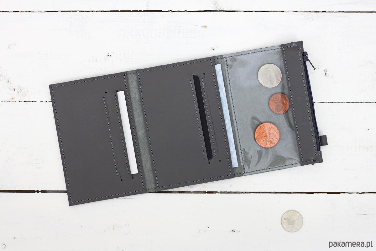 8e430ce1f9784 MINI +   Gray- portfel ze skóry - portfele - damskie - Pakamera.pl